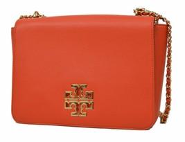 Tory Burch Women's Britten Large Adjustable Shoulder Bag, Spiced Orange,... - $400.94