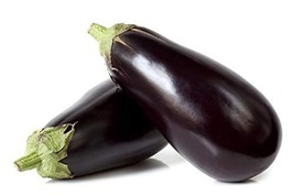 Sow No GMO Eggplant Black Beauty Non GMO Heirloom Vegetable 100 Seeds - $3.93