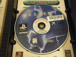 Descent (Sony PlayStation 1, 1996) - No Manual!!! - $8.90