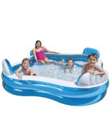 Intex 56475EP Swim Center Family Lounge Inflatable Pool 90inch X 90inch ... - $135.00