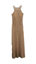 Adrianna Papell Blush Pink Beaded Sequin Sleeveless Dress, Size US 4P - $108.55