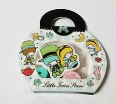 Little Twin Stars Eraser Mini Bag 2007' SANRIO Old Retro Cute Rare - $12.20