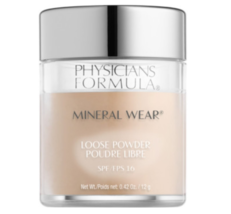 Physicians Formula  Mineral Wear Loose Powder SPF 16, Translucent Light - $7.48