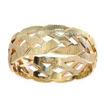 14K Yellow Gold Men's Wedding Band - $460.35