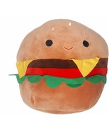 """Squishmallow Carl The 5"""" Cheeseburger Food Pillow Super Soft Plush Toy P... - $24.44"""