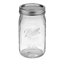Ball 12-Count Wide Mouth Quart Jars with Lids and Bands - $26.89