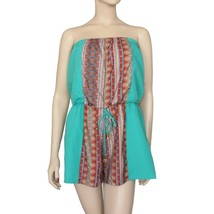 City Triangles Strapless Romper Juniors Size L Msrp $52.00  - $14.99