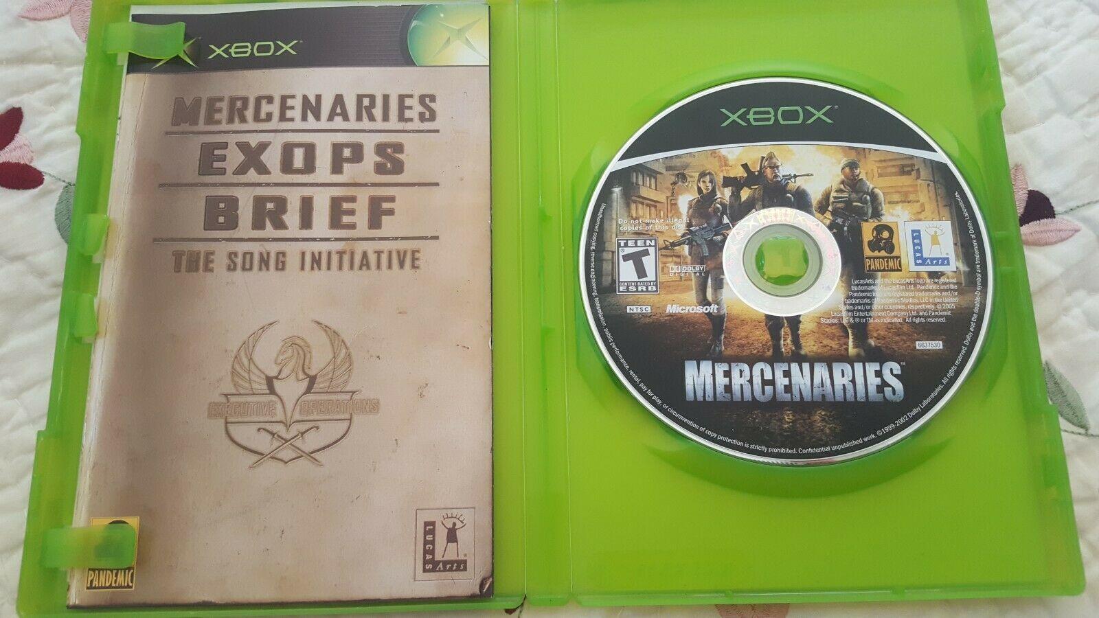 Mercenaries: Playground of Destruction (Microsoft Xbox, 2005) image 2