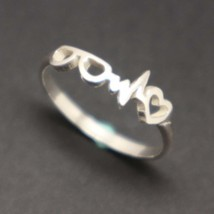 Optometrist Heartbeat Ring - $42.00