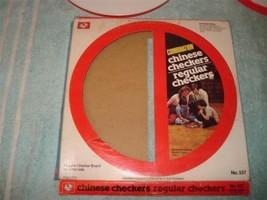 VINTAGE 1970s CHINESE,REGULAR CHECKERS GAME OHIO ART - $34.99