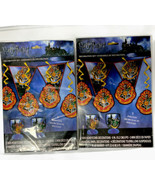 Harry Potter 7 Piece Party Decorations Kit. Lot Of 2 - $14.84