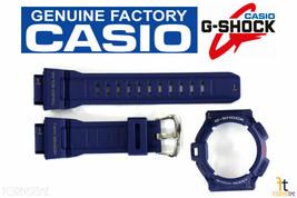 CASIO G-9300NV-2 G-Shock Original Blue Rubber Watch BAND & BEZEL Combo - $99.95