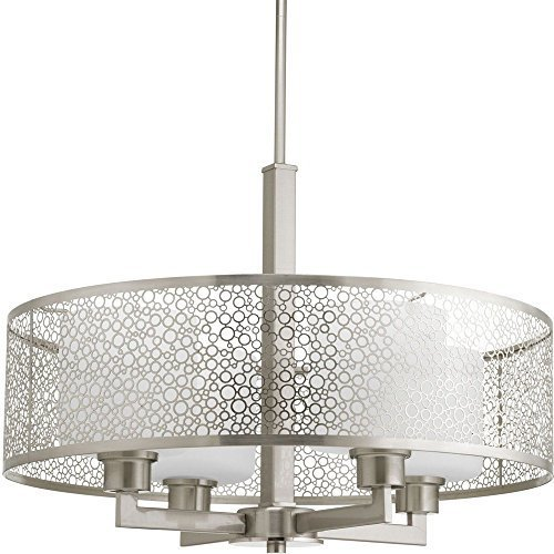 Primary image for Progress Lighting P5156-09 Contemporary Modern Four Light Pendant from Mingle Co