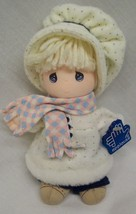 "Applause Precious Moments CUTE DOLL IN WINTER OUTFIT 7"" Plush STUFFED DO... - $16.34"
