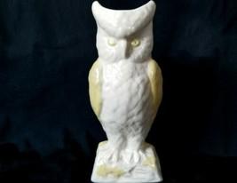 "Belleek Owl Vase 8 1/4"" Tall  Brown Mark Excellent Condition - $40.80"