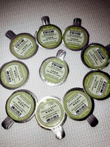 10 BATH BODY WORKS Vanilla Bean Noel SCENTPORTABLE  REFILL DISC CAR FRES... - $39.58