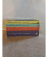 4 Harry Potter Kids Edition SPANISH Books by J.K. Rowling Salamandra Pap... - $44.55