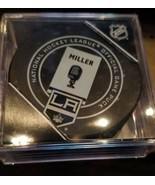 2017-18 SHERWOOD BOB MILLER LOS ANGELES KINGS STATUE & BANNER GAME PUCK ... - $39.99