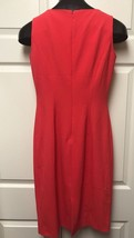 Ellen Tracy sleeveless dress with jacket Coral Work Career size 2 - $26.72