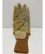 Wildland Firefighter Glove Left Only Nubuck Leather Firefighting Size Me... - $9.74