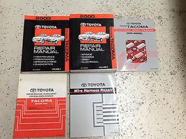 2000 Toyota TACOMA TRUCK Service Shop Repair Workshop Manual Set W EWD + More  - $395.99