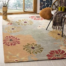 Safavieh Metro Collection MET990A Handmade Floral Premium Wool Area Rug,... - $420.00
