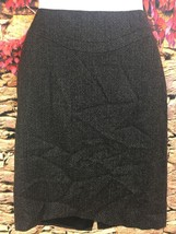 Elie Tahari Womens Brown Wool Blend Pencil Skirt Style E7026307 Career S... - $20.53