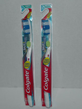 2 Packs Colgate 360° Tongue & Cheek Toothbrush Soft Full 36 Blue New - $9.89