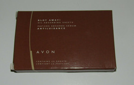 Avon Blot Away Oil Absorbing Sheets New in Box Contains 50  - $8.72