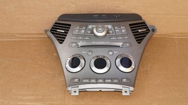06 Subaru Tribeca B9 Heater Climate Control Dash Air Vents Info Stereo Faceplate image 1