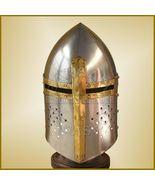 18 GAU Sugarloaf Helmet Medieval Helmets Heavy Reenactment Costume Larp ... - $60.00