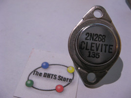 Qty 1 Clevite 2N268 Germanium Ge PNP Power Transistor TO-3 - NOS Vintage - $13.29