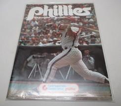 1978 Philadelphia Phillies Souvenir Program HTF Cover MLB Baseball Clean - $11.14