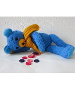 Handmade Teddy Bear Stuffed Toy Animal - Birthday Gift - Nursery Decoration - $48.00