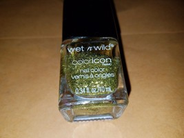 Wet n Wild Coloricon GIVE ME A PRICE QUOTE Nail Polish Lacquer Color - g... - $5.45