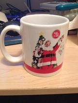 Things go Better with Coke Christmas Santa Coffee Mug Coca-Cola #4204 - £3.24 GBP