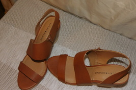 Cafe Slingback Wedge Sandals - $30.00