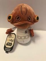 Hallmark itty bitty bittys Star Wars Admiral Ackbar Stuffed Animal Plush... - $8.95