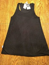 Miken Swim Black Beach Cover Up Size Small image 1