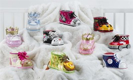 Adorable Child/Baby Money Banks - Bootieful Bootie 10 Assorted Designs Polystone image 1