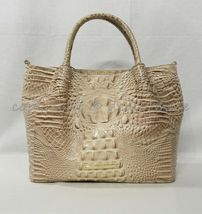 NWT Brahmin Small Mallory Leather Satchel/Shoulder Bag in Blossom Melbourne image 9