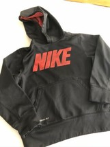 Nike Boys Hoodie Size Small Therma-Fit Black  - $14.39