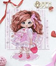 Cross Stitch Hand Embroidery Kit Cute Arisha Doll - $16.78