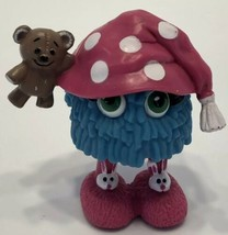McDonalds Fry Guy 1989 Fry Friend Girl  with Teddy Bear, Hat and Slippers - $9.79