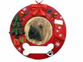 E&S Pets Shar Pei Personalized Christmas Ornament - $14.95