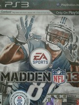 New sealed Madden NFL 13(Sony PlayStation 3 Football video game EA Sports - $9.50