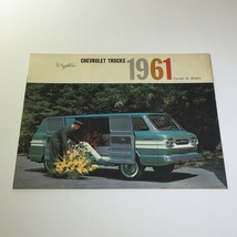 1961 Chevrolet Trucks Corvair 95 Models Light-Duty Trucking Car Catalog Brochure - $17.81