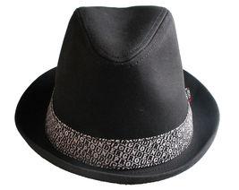 UGP Bajo Suelo Productos Grems Hombre Blanco y Negro Ska Sombrero Fedora Nwt image 3