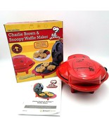 Smart Planet Peanuts Snoopy and Charlie Brown Waffle Maker WM-6S - $37.88
