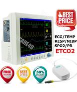 ETCO2 Vital Signs Monitor CO2 Monitoring Patient Monitor ECG NIBP SPO2 R... - $1,286.01